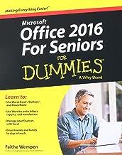 Office 2016 For Seniors For Dummies (Office for Seniors for Dummies)
