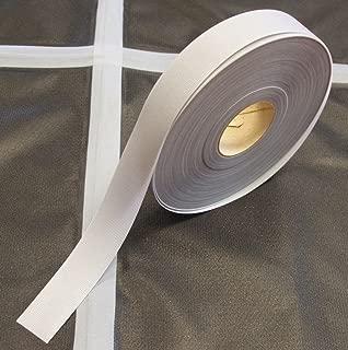 Seam Sealing Tape T-2000X – Hot Melt 3-Layer Waterproof – 5 Metres - Iron On (Light Grey, 22mm Width)