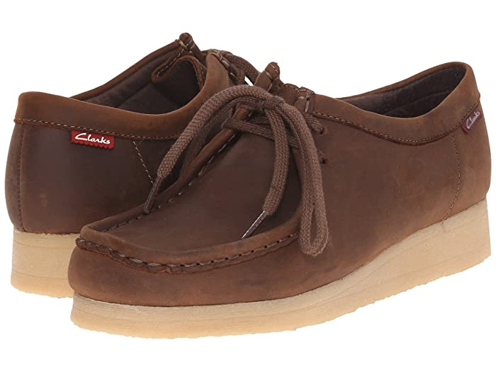 Retro Vintage Flats and Low Heel Shoes Clarks Padmora Brown Smooth Womens Shoes $90.95 AT vintagedancer.com