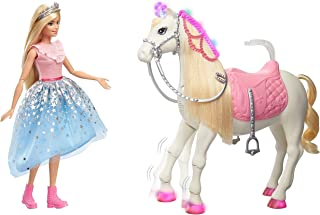 Barbie GML79 Modern Princess Prance & Shimmer Horse