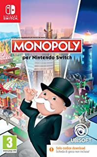 Monopoly Code in Box Switch - Nintendo Switch