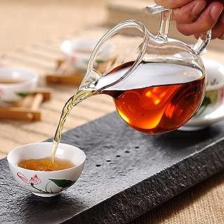 ELITEA Clear Glass Tea Sharing Pitcher (250ml, 8.5 oz. fl)…