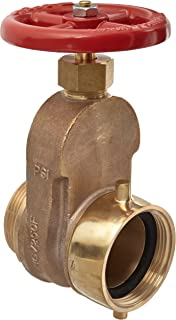 Dixon UHGV250F Brass Single Hydrant Gate Valve with Handwheel, 2-1/2