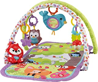 Fisher-Price - Gimnasio musical 3 en 1, Woodland