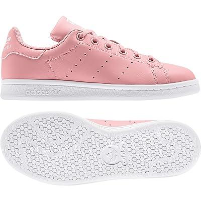 adidas Originals Kids Stan Smith (Big Kid) (Glory Pink/White) Girls Shoes