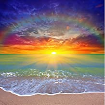 40 * 40cm Sunset 5D Diamond Painting Full Kits, DIY Painting by Numbers Kit for Adult, Crystal Art for Home Wall Decor, Di...