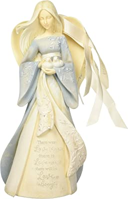 ENESCO FOUNDATIONS SUPPORT OUR TROOPS MINI ANGEL FIGURINE NCCS DONATION 4042718