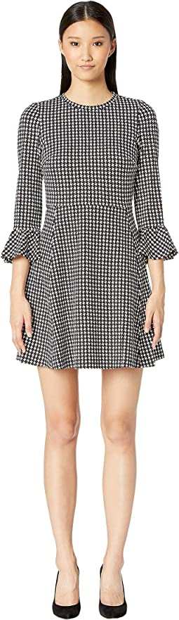 Broome Street Houndstooth Ponte Dress