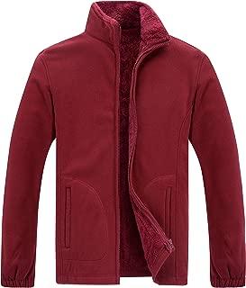 Gatti Men's Fleece Jacket Full Zip Outdoor Fleece Outwear Sport Sweatshirt for Fall Winter Spring