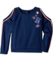 Tommy Hilfiger Kids - Cold Shoulder Pullover (Big Kids)