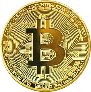 Shinekoo Gold überzogene Bitcoin Münze Sammlerstück BTC M