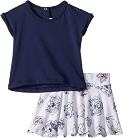 Kenzo Kids - Tee Shirt and Skirt Tigers (Infant)
