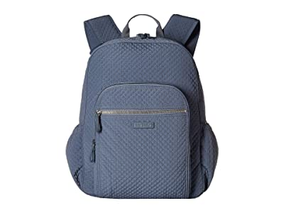 Vera Bradley Iconic Campus Backpack (Charcoal) Backpack Bags