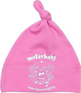 Racker-n-Roll MOTÖRBABY Louder Than Everything Babymütze pink