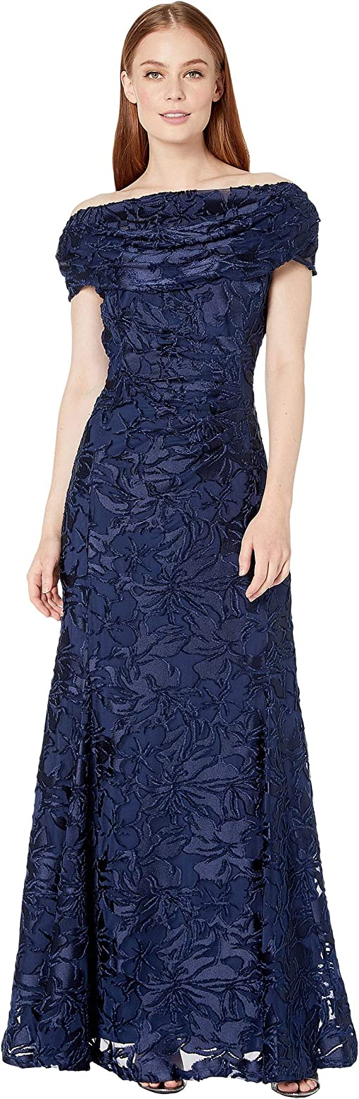 Navy Burnout Floral