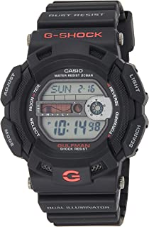 Casio G-9100-1DR For Men- Analog, Casual Watch