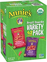 Expect More Annie's Organic Fruit Snack Variety Pack (0.8 oz, 42 ct.)
