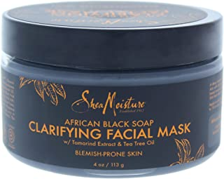 SheaMoisture African Black Soap Problem Skin Facial Mask, 4 Ounce