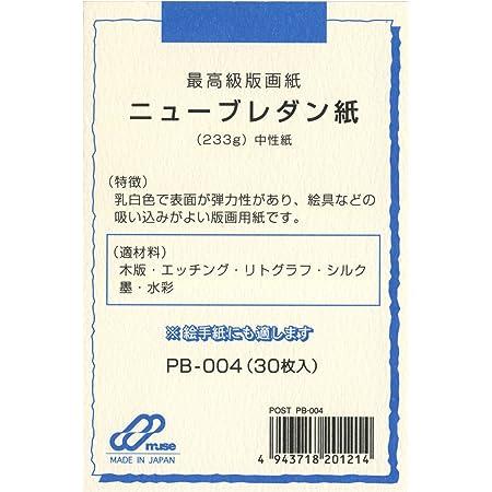 ミューズ はがき用紙 ポストカードパック PB-004 ニューブレダン紙 233g 30枚入