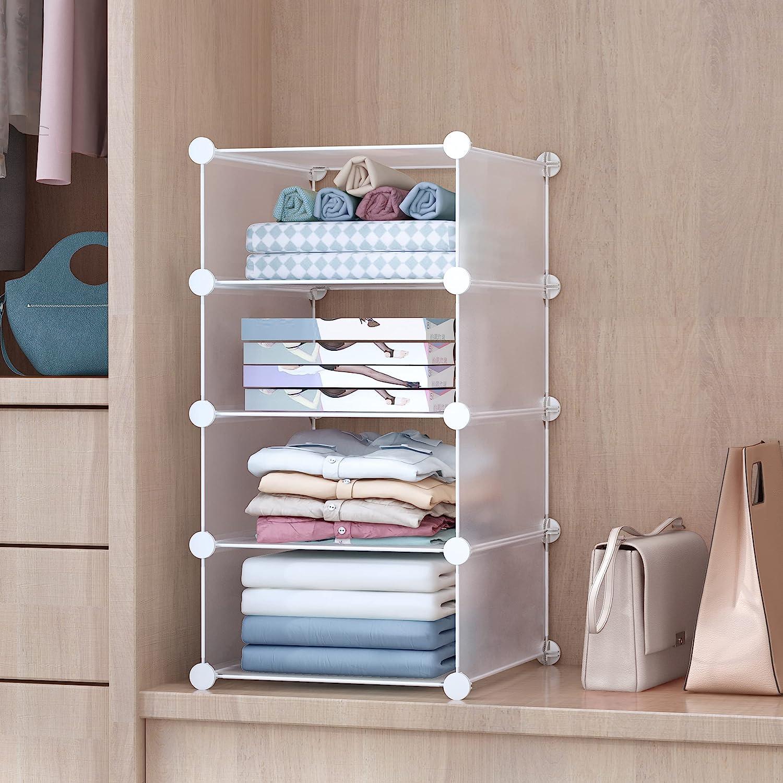 GuanJun Storage Shelf Dividers an Divider Closet New mail order Organizer Max 66% OFF