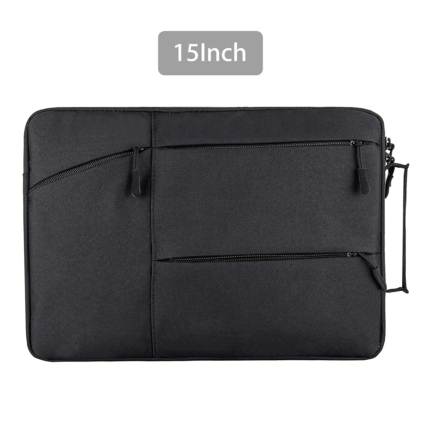 EEEKit 15 Inch Waterproof Laptop Sleeve Bag with Handle for Acer Chromebook R11, Samsung Chromebook 3, HP Stream 11/Chromebook 11, Lenovo 11.6 Chromebook, 11.6 inch Notebook Protective Bag, Black