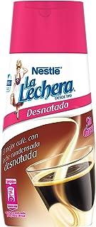 Nestlé La Lechera - Leche condensada desnatada - Botella de leche sirve fácil - Caja 450