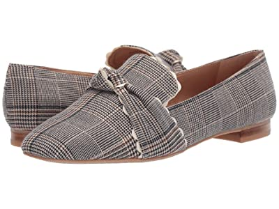 Jack Rogers Holly Plaid Loafer (Midnight/Tan) Women