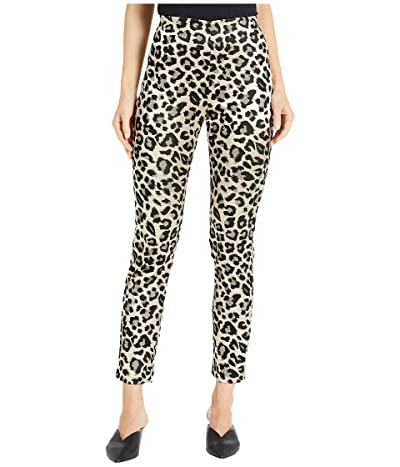 Karen Kane Jacquard Piper Pants (Leopard) Women