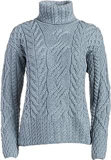Boyne Valley Knitwear The Máire Merino Wool Irish Sweater