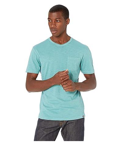 The Normal Brand Vintage Slub Pocket T-Shirt (Blue Surf) Men