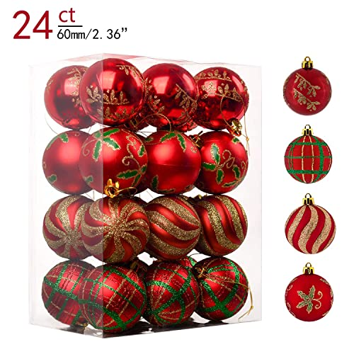 Green And Red Christmas Tree Amazoncom