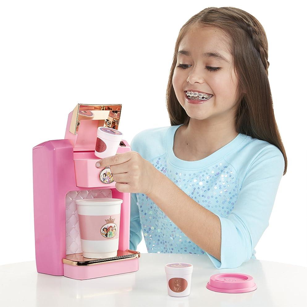 Disney Princess Style Collection Play Gourmet Coffee Maker, 4 Piece Set