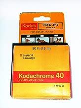 Kodak KMA-464 Super 8 Kodachrome 40 Movie Film