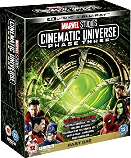 Marvel Studios Cinematic Universe: Phase Three - Parte 1 [Blu-Ray 4K]