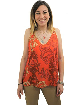ALVIERO MARTINI Canotta Donna Colore Aragosta - D0940NCE3J360