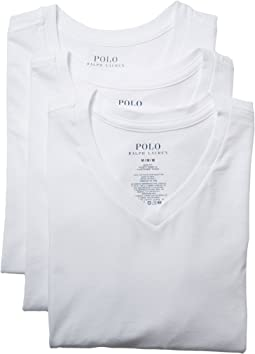 Polo Ralph Lauren - 3-Pack Slim Fit V-Neck