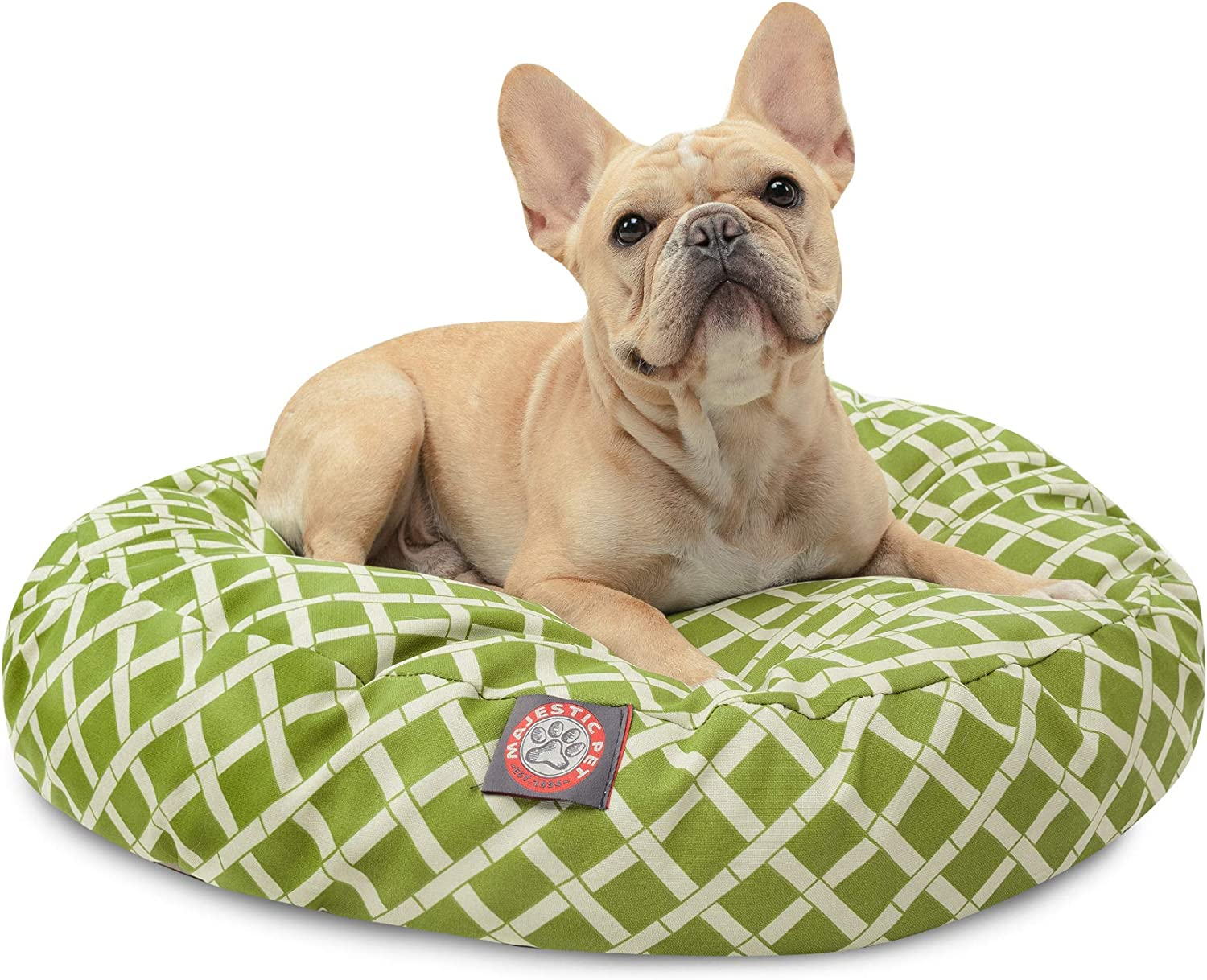 Majestic Pet Small Round Pet Bed, Sage Bamboo