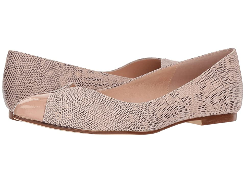 French Sole Zigzag (Nude Snake Print) Women
