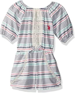 d8772ee74c18 Amazon.com  Little Girls (2-6x) - Jumpsuits   Rompers   Clothing ...