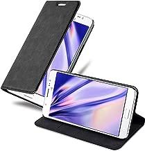 Cadorabo Custodia Libro per Samsung Galaxy J5 2016 in Nero di Notte – con Vani di Carte, Funzione Stand e Chiusura Magnetica – Portafoglio Cover Case Wallet Book Etui Protezione