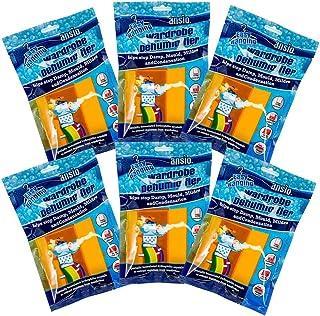 comprar comparacion ANSIO Deshumidificador para Armario Colgante, Eliminador de Condensación, Absorbente de Humedad, Deshumidificadores para H...