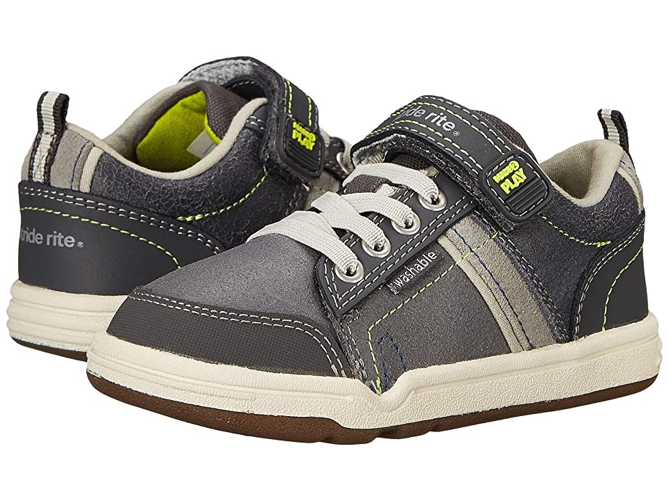 Stride Rite Made 2 Play Kaleb (Little Kid) (Grey) Boys Shoes