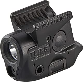 Streamlight 69284 TLR-6 Tactical Pistol Mount Flashlight 100 Lumen with Integrated Red..