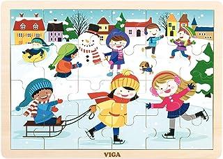 VIGA 24 pcs  Puzzle - Winter
