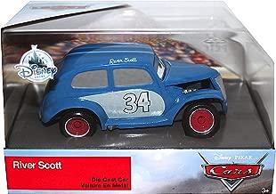 River Scott Disney Cars 3 Exclusive DieCast 1:43 Scale