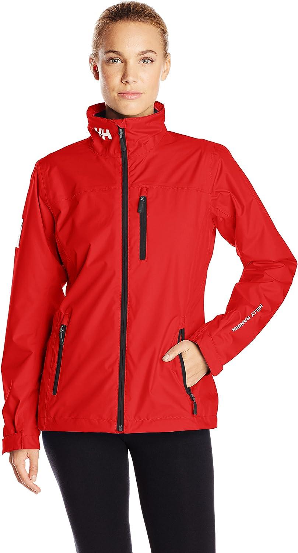 Helly Hansen Women's Crew Mid Layer Jacket, Red, XSmall