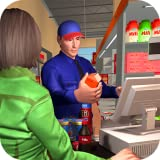 Supermarket Grocery Store Cashier Girl Game
