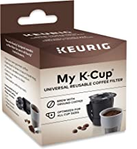 Keurig My K-Cup Universal Reusable K-Cup Pod Coffee Filter, Compatible with All 2.0 Keurig K-Cup Pod Coffee Makers, 1 Coun...