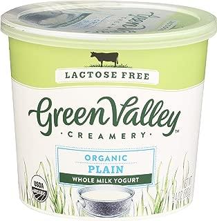 Green Valley Organics, Yogurt Lactose Free Plain Whole Milk Organic, 24 Ounce