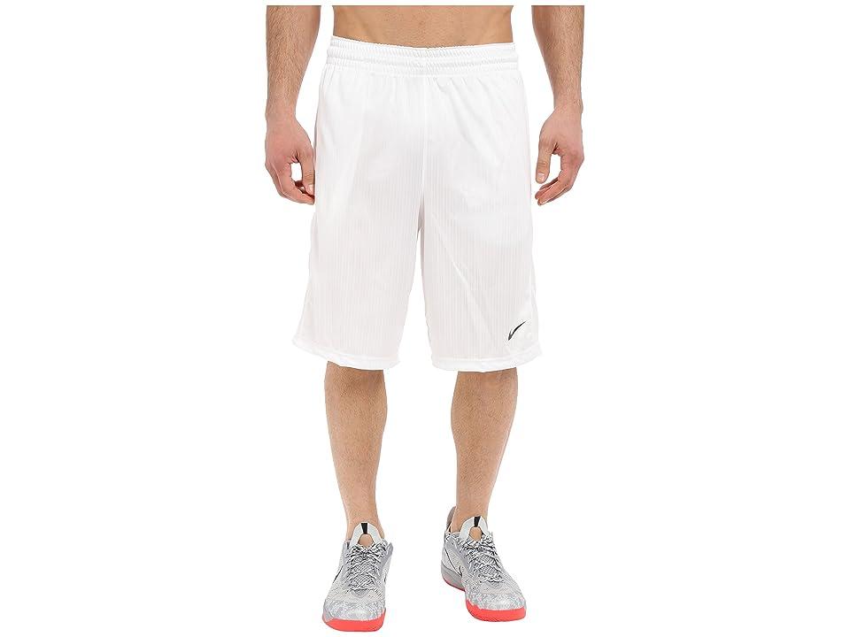 Nike Layup Shorts 2.0 (White/White/White/Black) Men